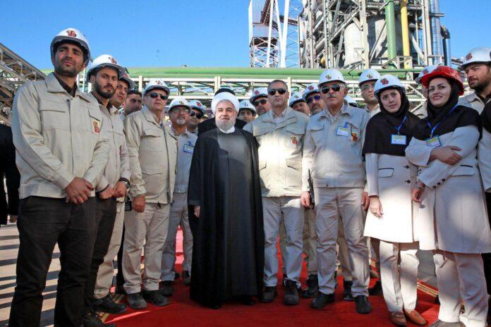 President Rouhani Inaugurates Sponge Iron Plant in Kerman