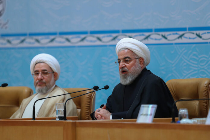 Rouhani at Islamic Unity Conference