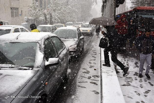 First Autumn Snowfall in Tehran