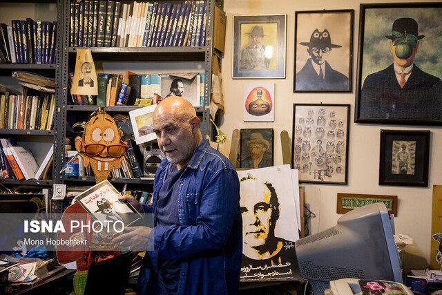 Acclaimed Iranian Cartoonist Recounts Woes of His 50-Year Career