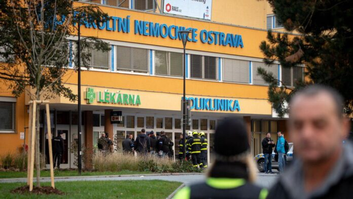Gunman Shoots Himself after Killing Six in Czech Hospital