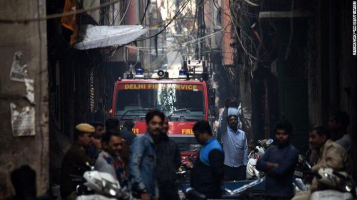 Huge Fire at Indian Plastic Factory Kills 43