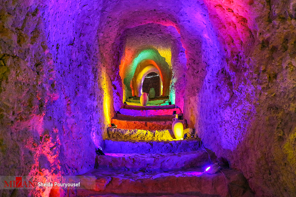 Iran's Beauties in Photos Kariz Underground City (7)