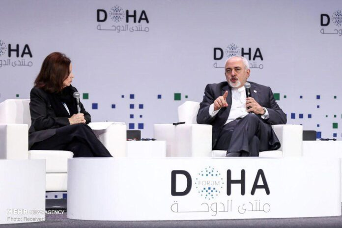 Iran FM Departs for Qatar to Attend Doha Forum