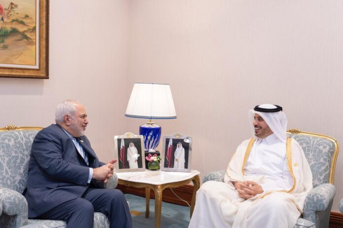 Iran FM Holds High-Level Meets in Doha