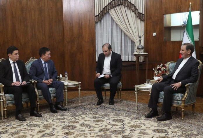 Iran Sees No Limits to Growing Ties with Kyrgyzstan: VP