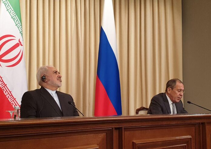 Iranian, Russian Foreign Ministers Hold Talks in Moscow
