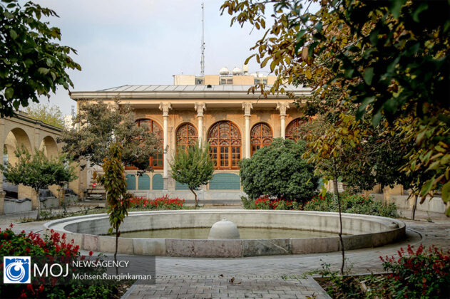 Masoudieh Palace; Home to First Iranian Library, Museum (7)