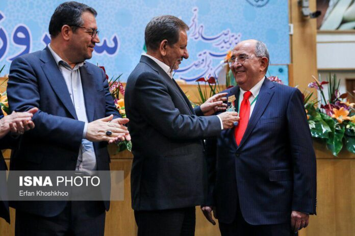 Top Iranian Knowledge-Based Firms Awarded by VP
