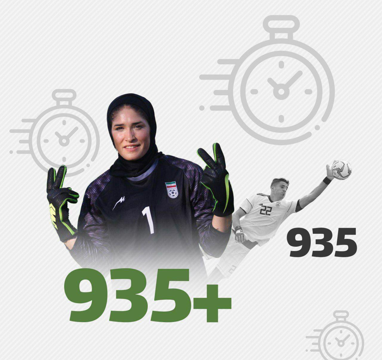 20 Year Old Girl Breaks Iran Clean Sheet Record Iran Front Page