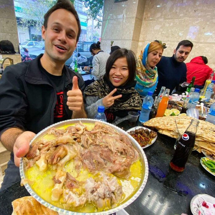 Canadian Influencer Fascinated by Delicious Iranian Foods