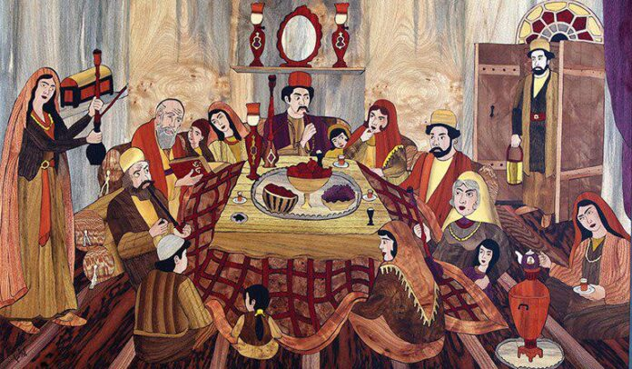 Iranian Korsi Brings Family Members Together on Yalda Night