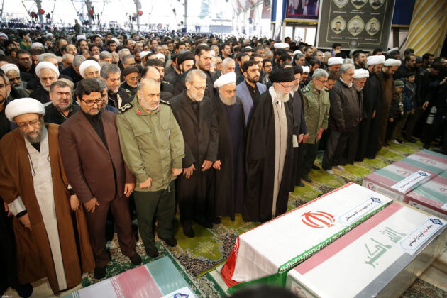 Millions of Iranians Attend General Soleimani's Funeral in Tehran-1 (6)