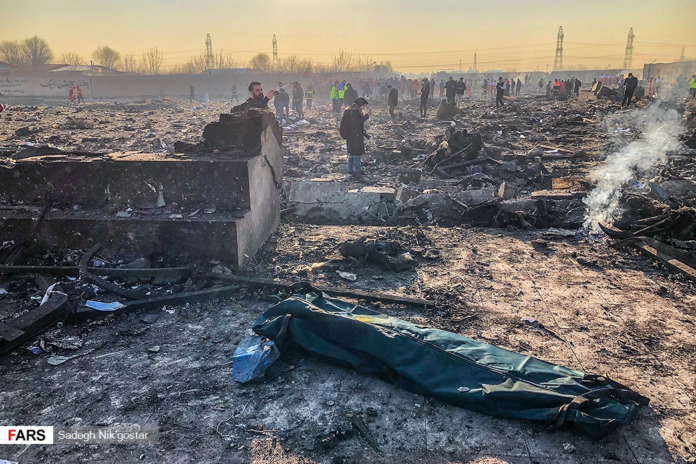 179 Killed in Passenger Plane Crash Near Tehran