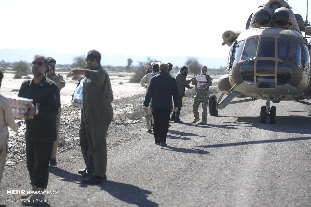 Iran Flood Relief Work Underway in Affected Areas