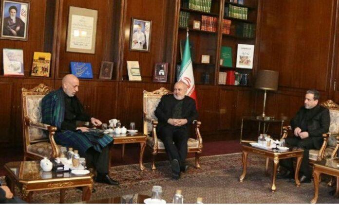 FM Zarif Meets Omani Counterpart, Hamid Karzai in Tehran