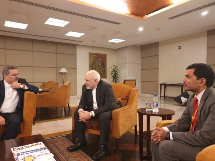 FM Zarif in India to Attend Raisina Dialogue 2020