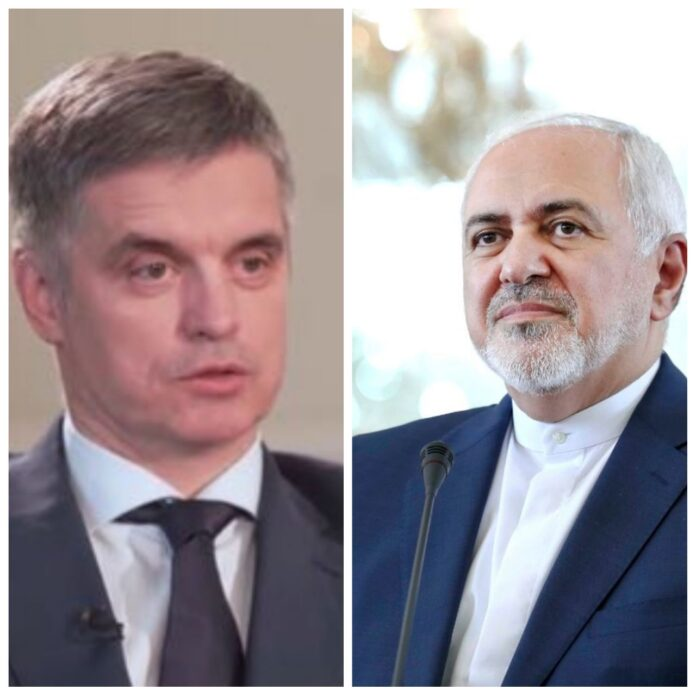 Iranian, Ukrainian FMs Discuss Latest Updates of Plane Crash