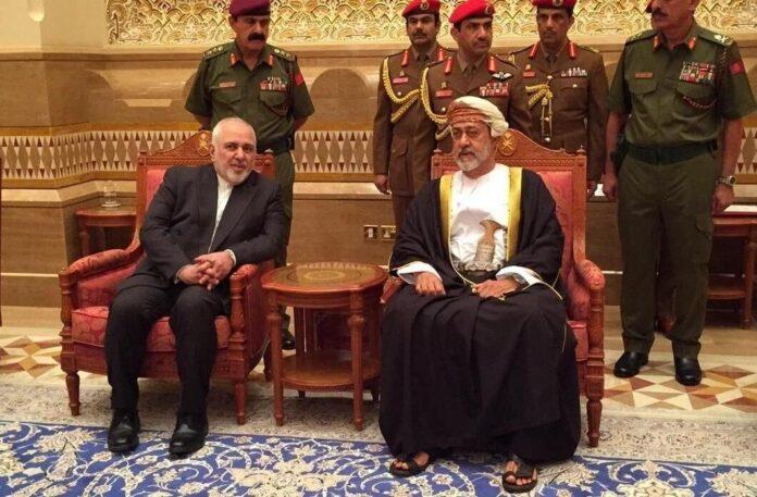 Iran FM Meets New Sultan of Oman in Muscat