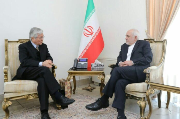Iran FM, UN Envoy Discuss Afghan Peace Process