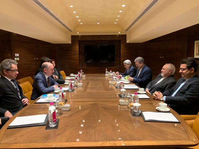Iranian, German Diplomats Hold Talks in India
