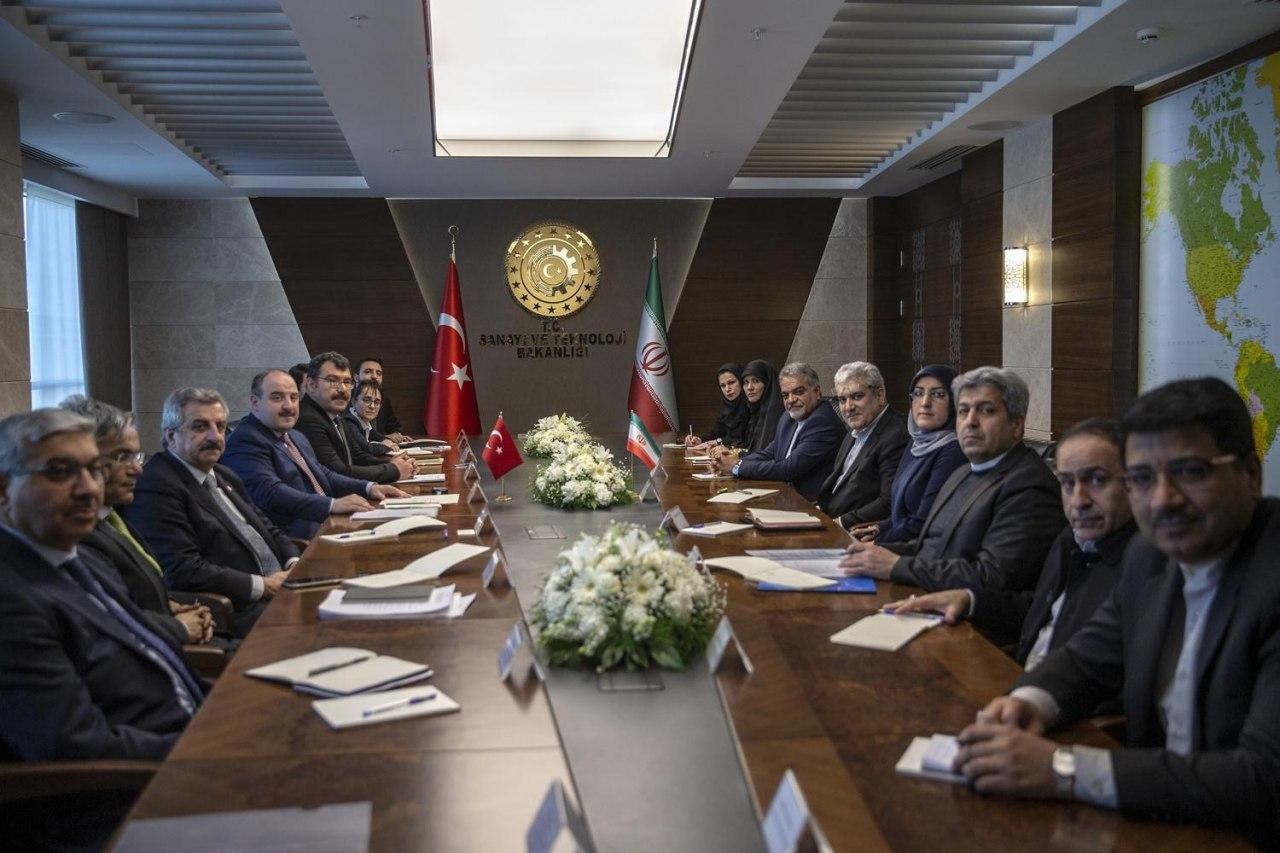 Iranian VP in Turkey for Expansion of Sci-Tech Ties (1)