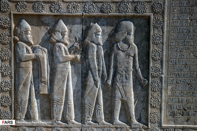 Extensive study is required to discover the secrets of considerable quantity and quality of the ancient reliefs. Up to this date, however, no valid stylistic analysis on them has been published. What follows are Fars News Agency's photos of Persepolis reliefs: