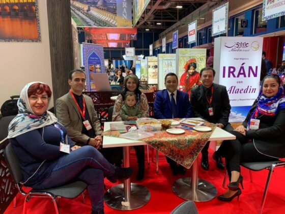 Iran's Cheerful Face Depicted at FITUR 2020