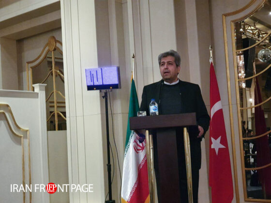 Iranian VP Upbeat on Closer Business Ties with Turkey
