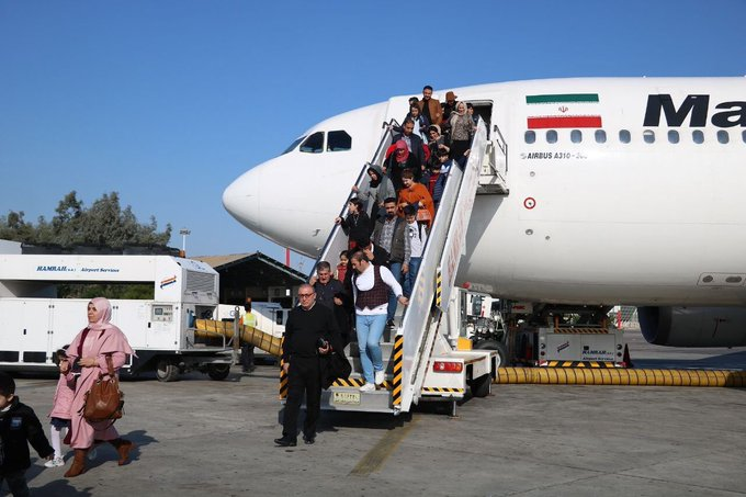 Iraqi Kurds Arriving on Kish Island on Direct Flights