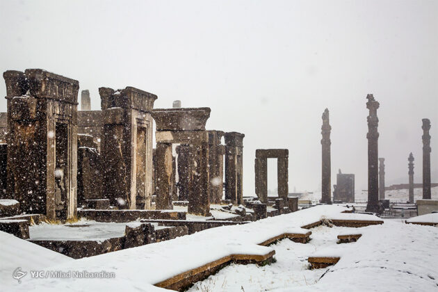 Persepolis inSnow