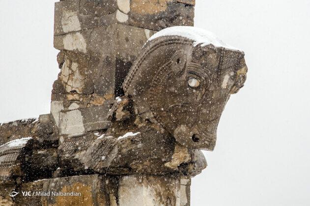 Snowy Persepolis