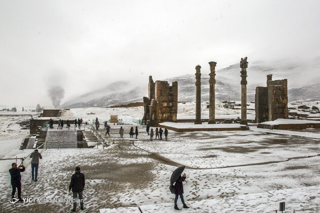 Iran's Persepolis in Winter