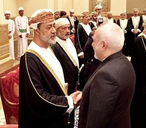 Sultan Haitham bin Tariq Al Said - Mohammad Javad Zarif
