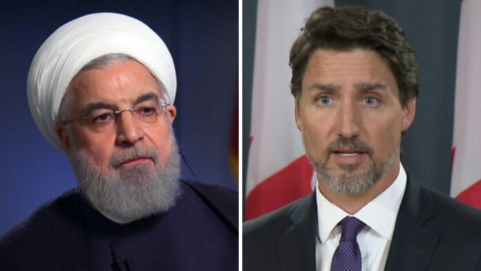 Iranian President Hassan Rouhani - Prime Minister of Canada Justin Trudeau