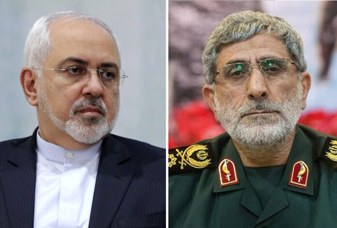 FM Zarif Pledges Cooperation with New IRGC Quds Force Chief