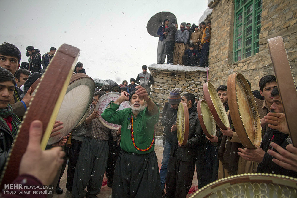 Mystic Dance in Ancient Iranian Mid-Winter Ceremony