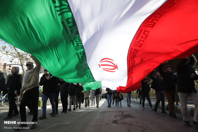 Millions in Iran Pour into Streets to Attend Revolution Anniversary Rallies