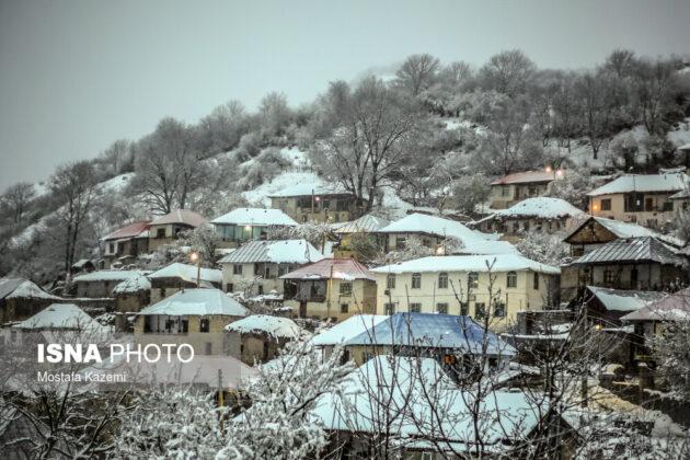 Iran's Beauties in Winter: Chahardangeh of Mazandaran