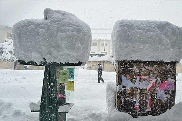 Heavy Snowfall, Avalanche in Iran
