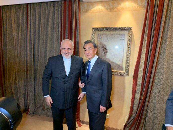 Iran, China FMs Hold Talks in Munich