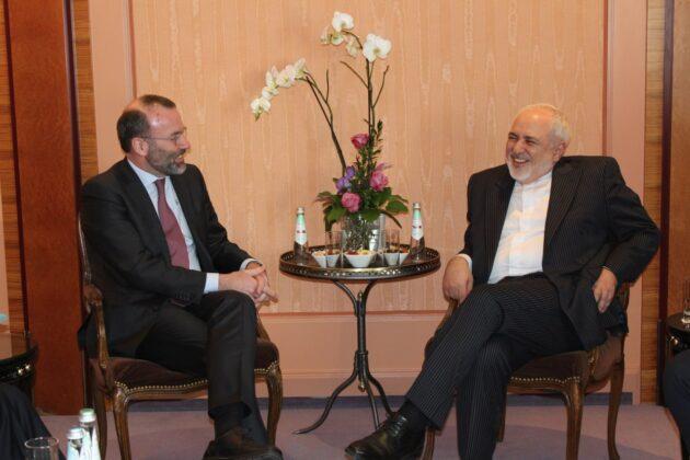 FM Zarif Meets World Diplomats in Munich