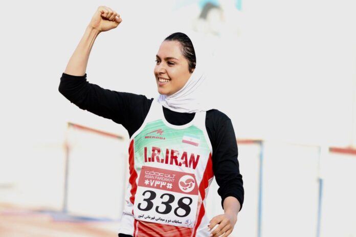 Iranian Female Sprinter Farzaneh Fasihi Sets New Record in Istanbul