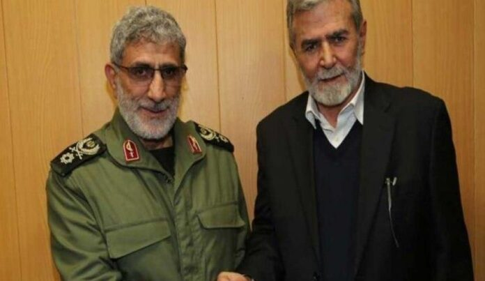 IRGC Quds Force Chief No Shift in Policy on Palestine