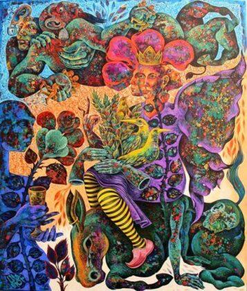Illustrated Works of Poetry Displayed at Tehran Exhibit