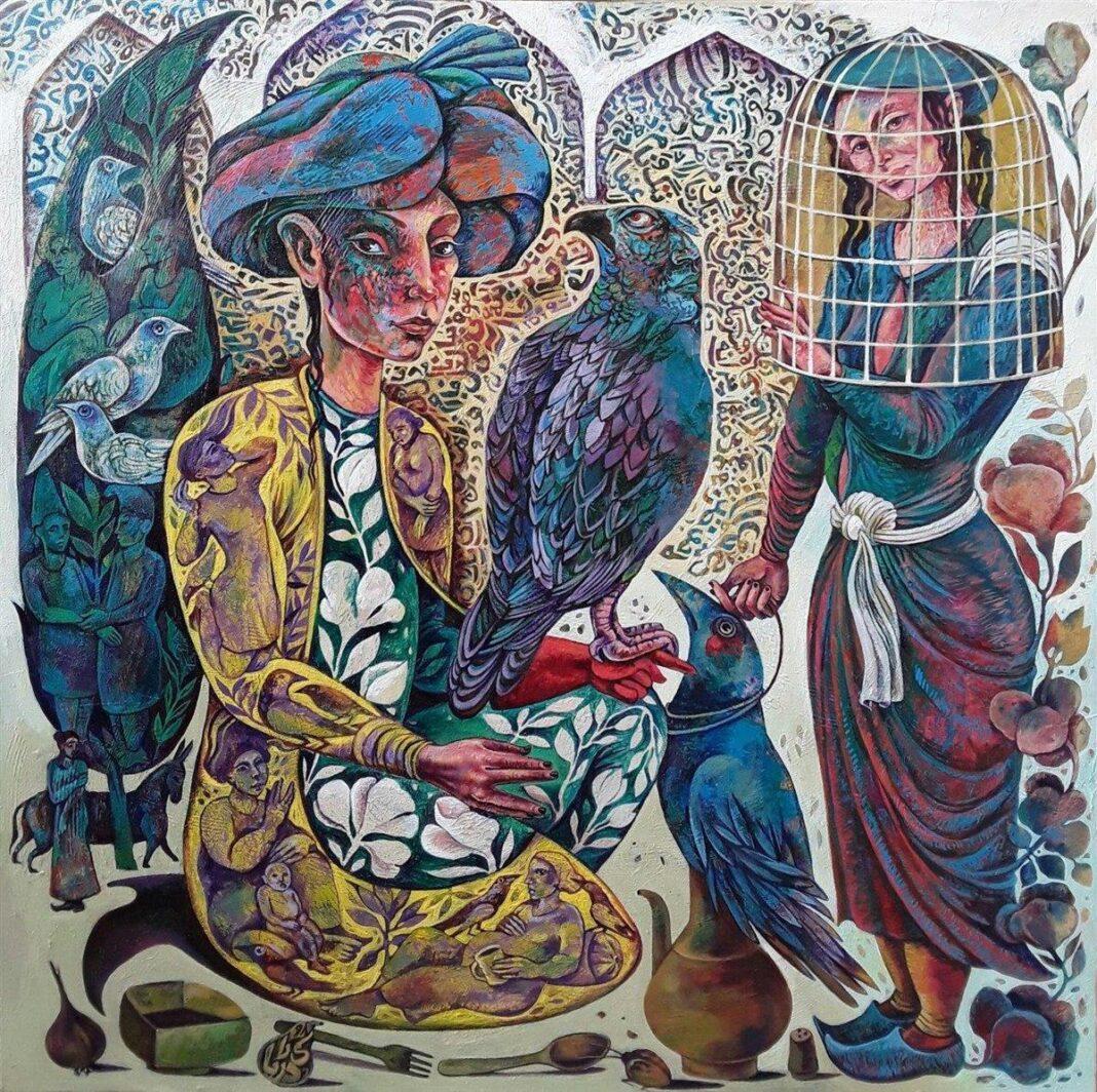 Poems Illustrations, Iran