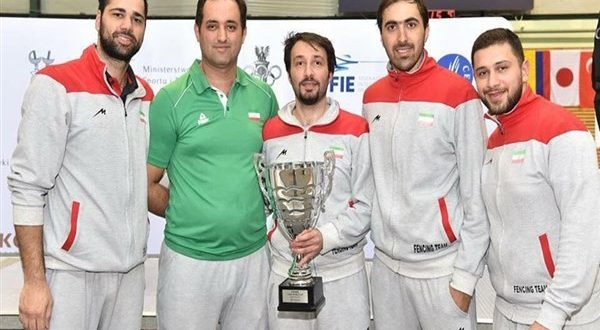 Iran's Sabre Fencing Team Qualify for 2020 Olympics