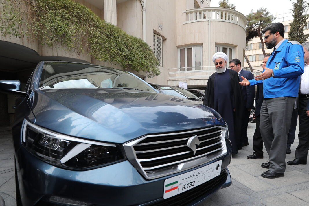 Iran President Unveils New Homegrown Cars (7)