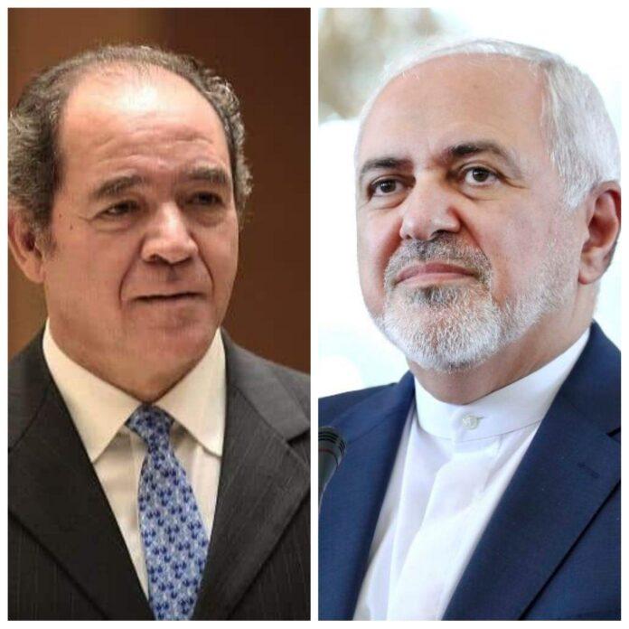 Iranian, Algerian FMs Discuss Muslim World Developments