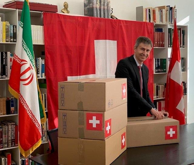 Medical Supplies Delivered to Iran through Swiss Channel Ambassador